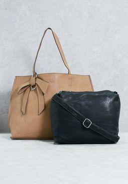 Reversible Shopper & Pouch