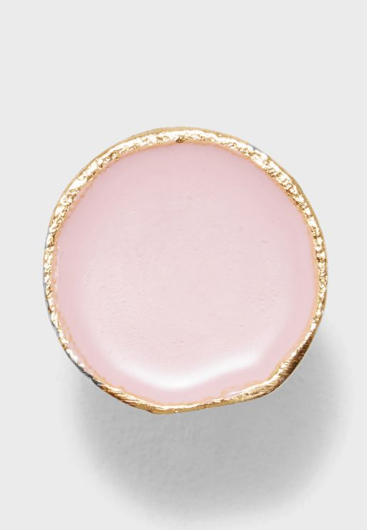 Round Enamel Drawer Knob