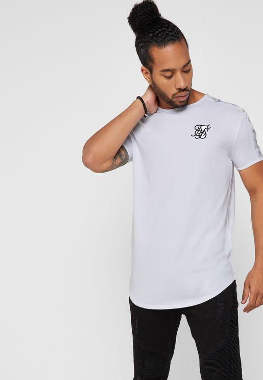 Essential Curved Hem Gym T-Shirt