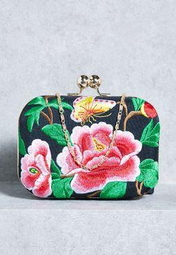 Floral Clutch