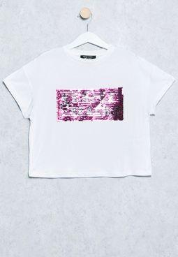 Youth Venice Beach Sequin T-Shirt