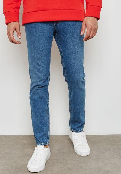 Jan Slim Fit Mid Wash Jeans