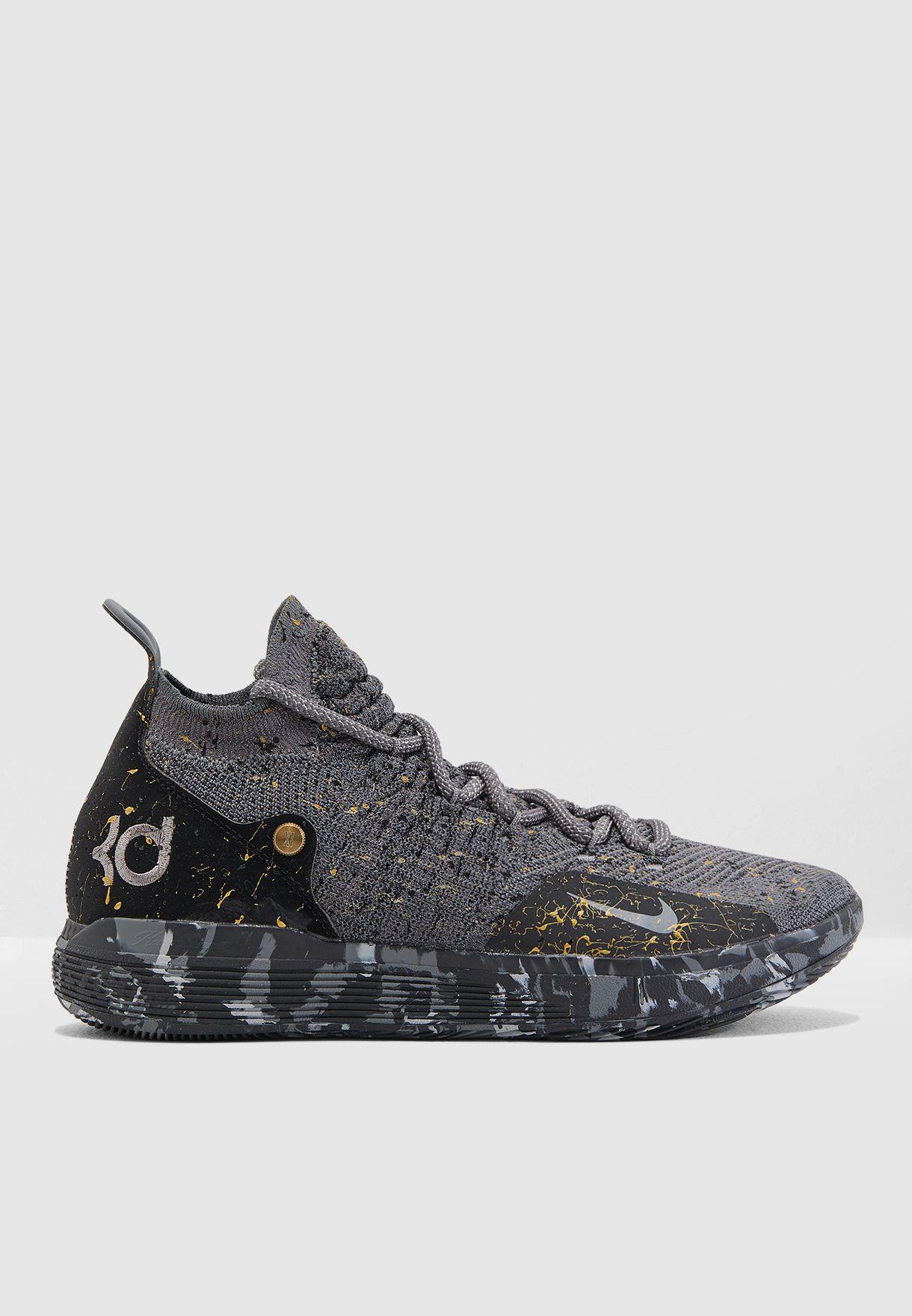 0e580d665cf4 Shop Nike grey Kevin Durant XI AO2604-901 for Men in Saudi ...