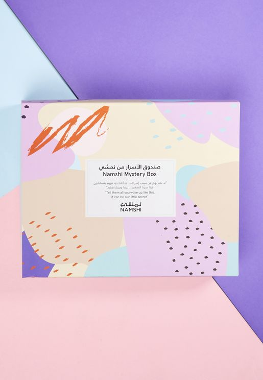 Namshi Mystery Skin Care Box Worth AED/SAR 377