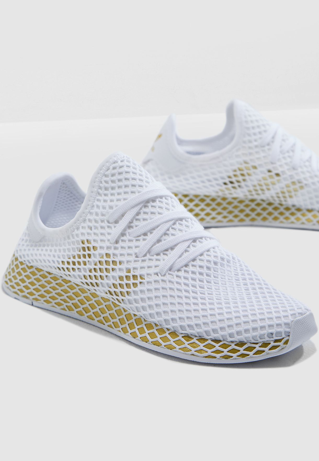 ad2cbba7796e9 Shop adidas Originals white Deerupt Runner CG6087 for Women in UAE ...