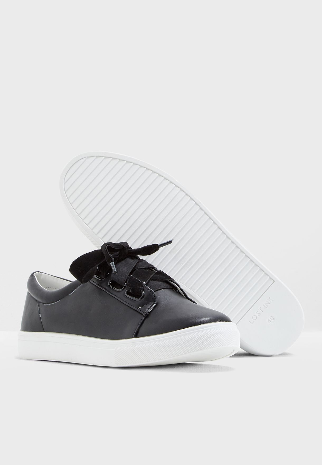 Harper Velvet Laces Trainer