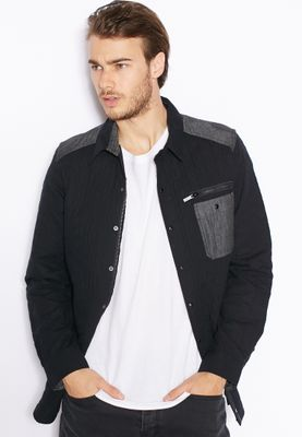Brave Soul Casare Quilted Shirt