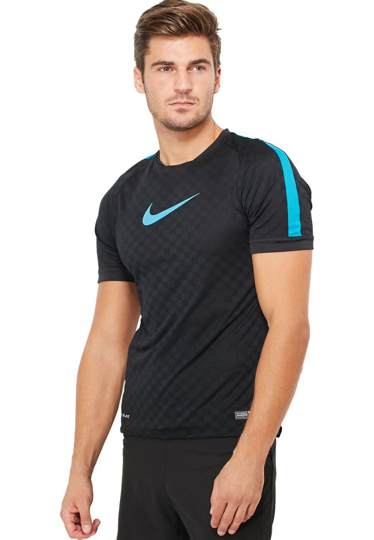 03a7a1ca848 Shop Nike black Football T-Shirt 631893-010 for Men in Kuwait ...