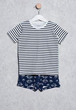 Infant Dash T-Shirt + Shorts Set