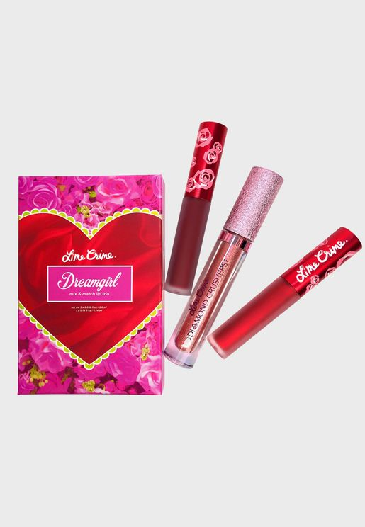 Dreamgirl Trio Lipstick Kit