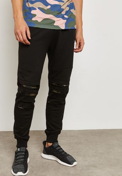 Knee Ripped Sweatpants