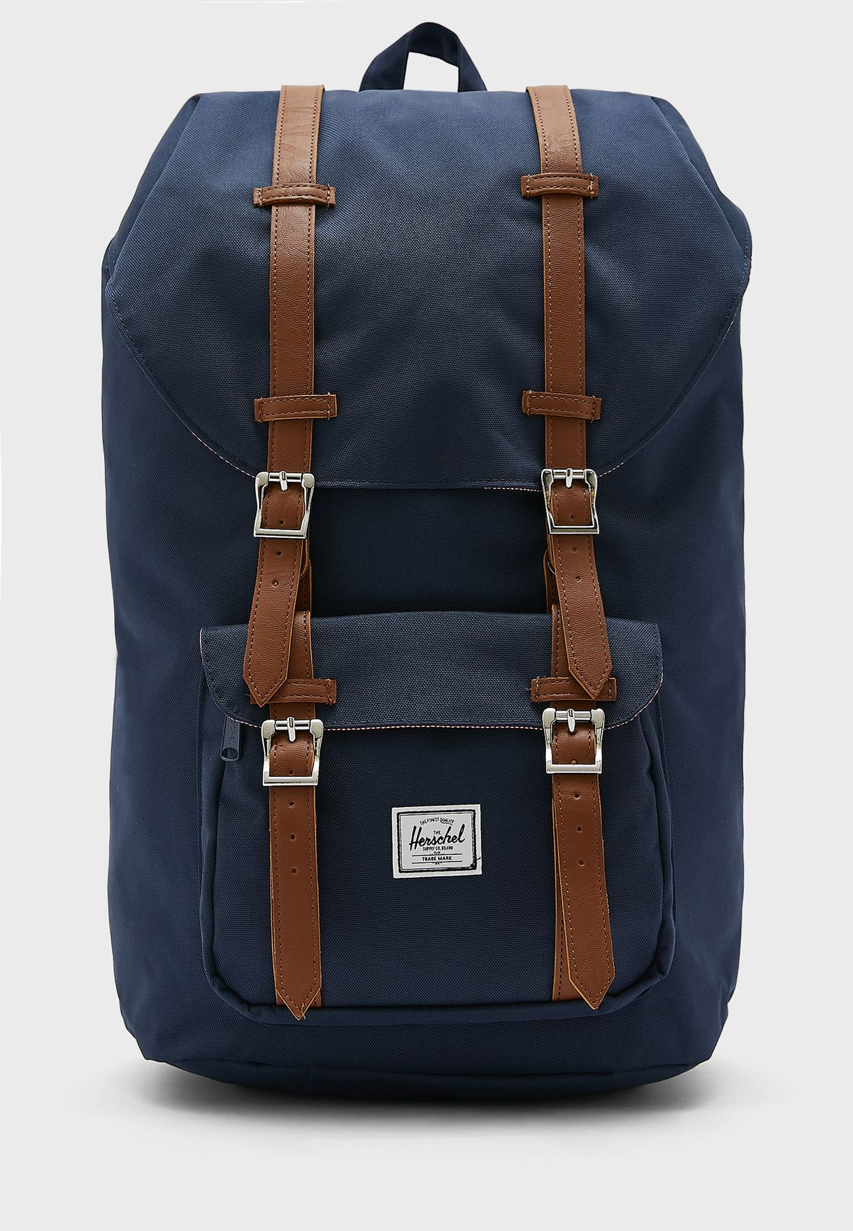 56006d08df Shop Herschel blue Little America Backpack 25L for Men in UAE ...