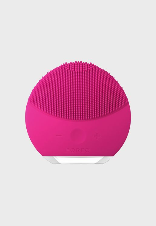 LUNA mini 2 Facial Cleansing Brush - Fuchsia