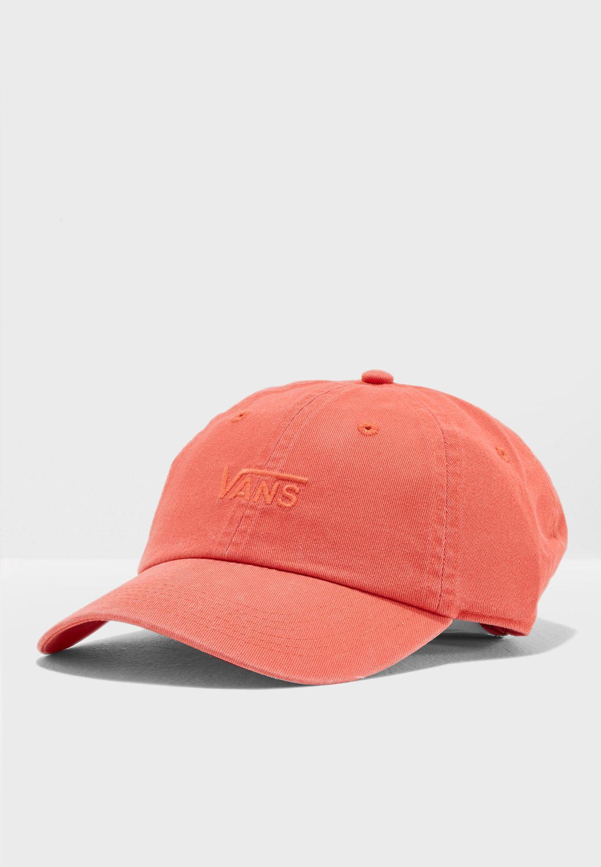 7341e49a71b Shop Vans orange Court Side Hat VA31T6P37 for Women in UAE ...