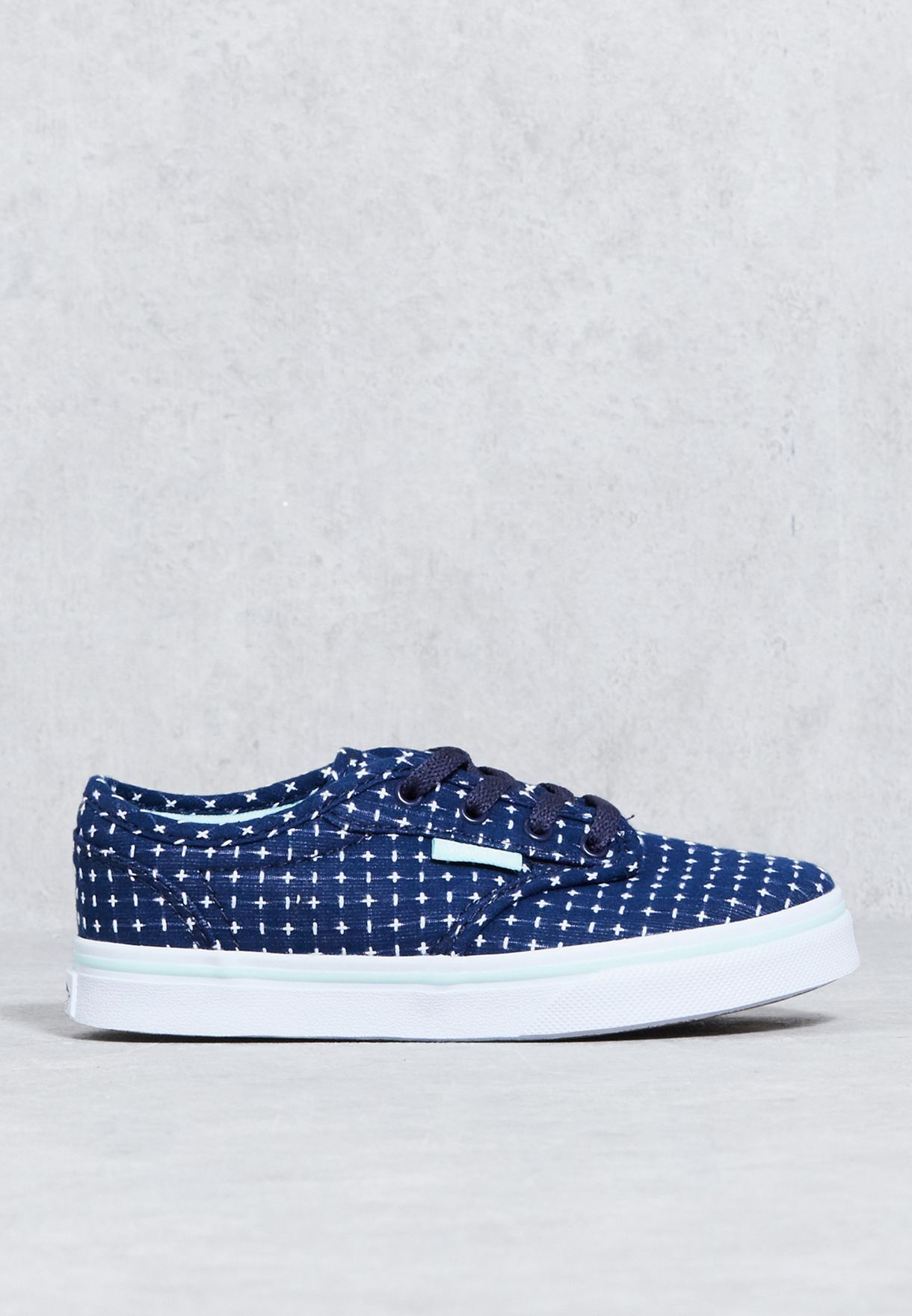 2f958d8508e810 Shop Vans navy Atwood Low Sneakers Kids 4ABOSM for Kids in Qatar -  VA088SH63FFK