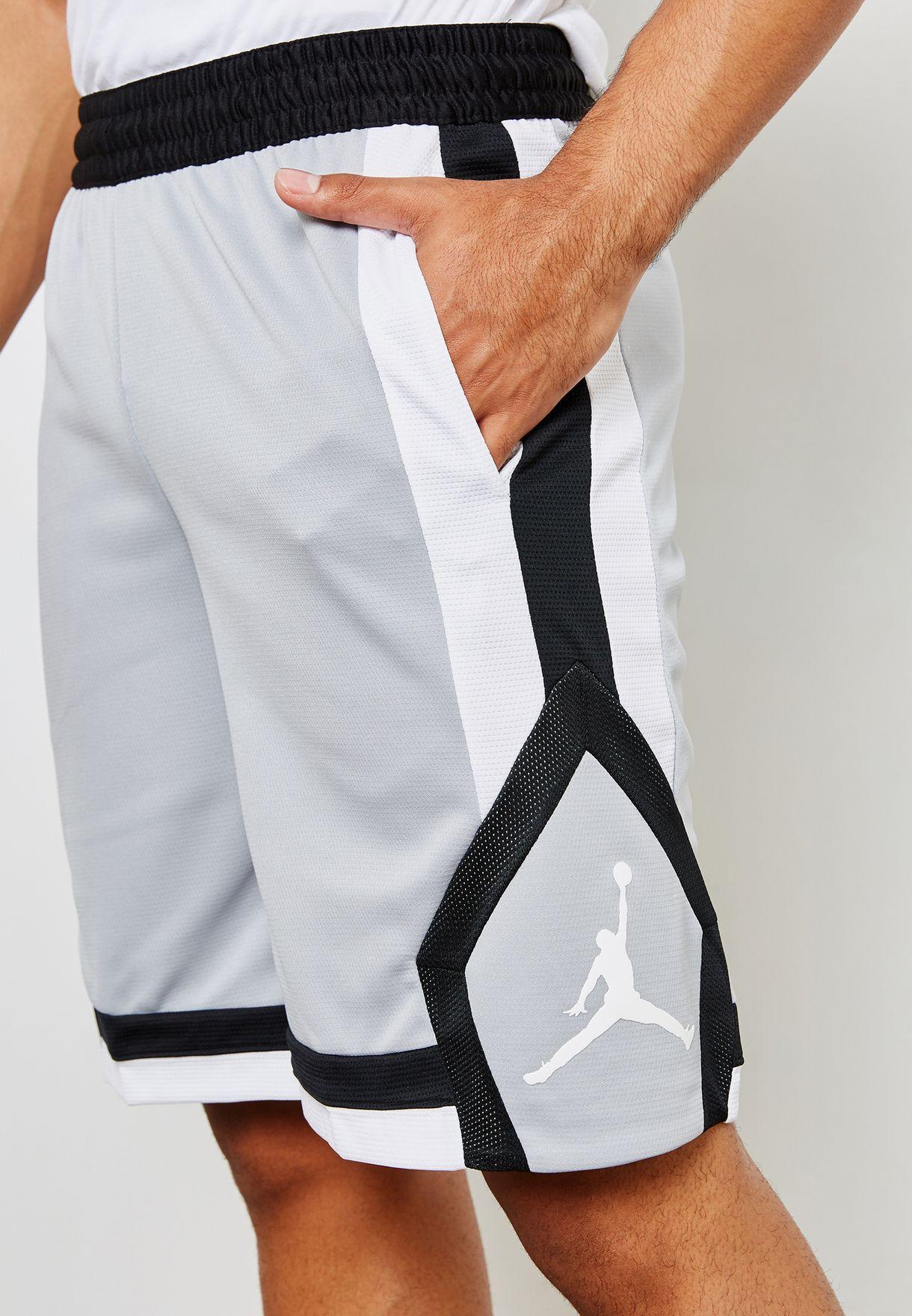c63d1445f454 Shop Nike grey Jordan Rise 1 Shorts 924562-077 for Men in UAE ...
