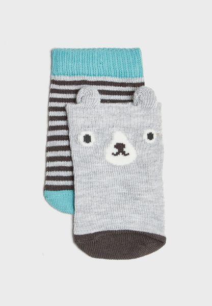Infant 2 Pack Socks