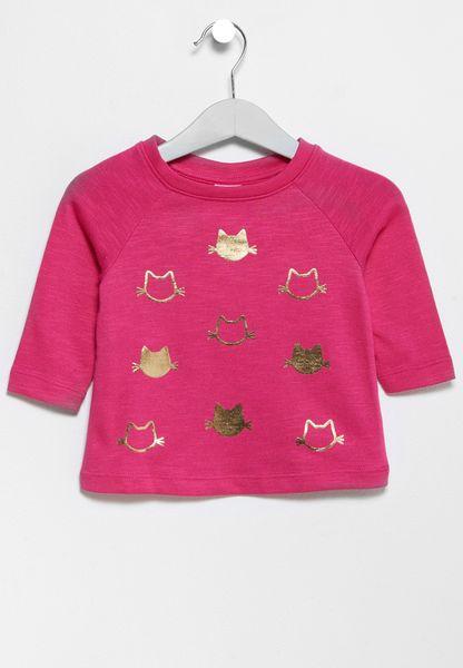 Infant Cat Sweatshirt