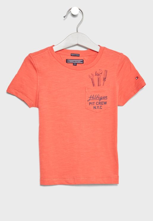 Teen Pocket Detail T-Shirt