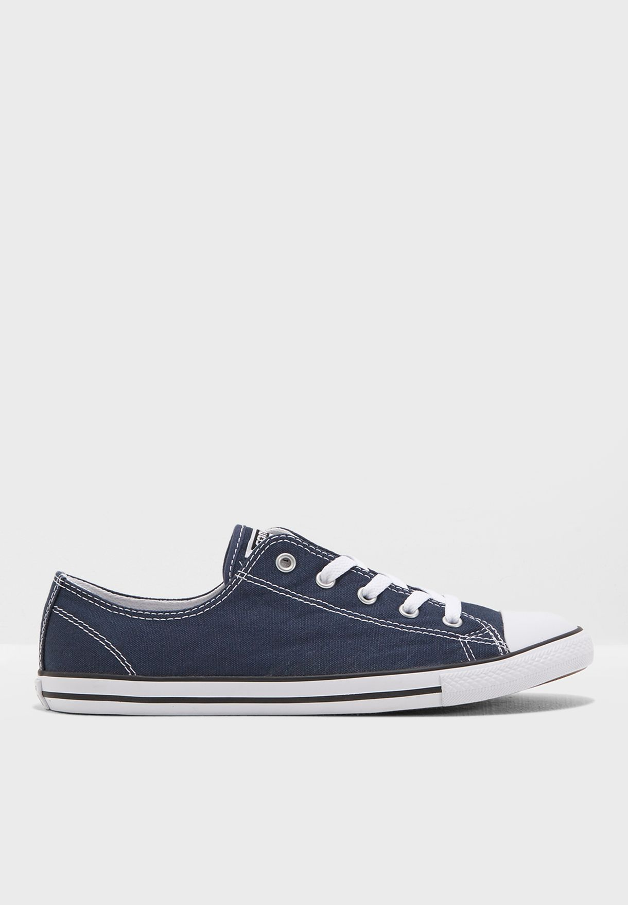 Shop Converse navy Chuck Taylor All Star Dainty 537649C-408 for ... 74e03bb86