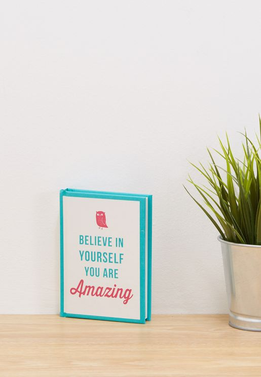 Believe In Yourself You are Amazing Book