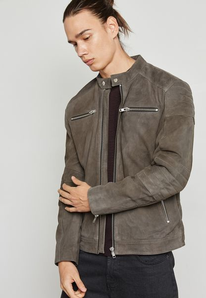State Leather Jacket