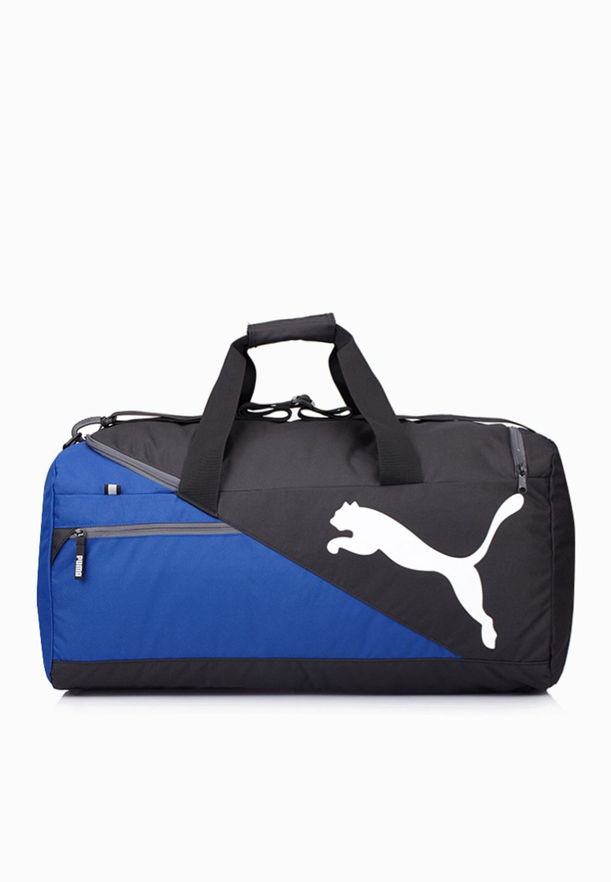 982c682ab3 Shop PUMA blue Fundamentals Sports Medium Duffel Bag 7339503 for Men in  Qatar - PU020AC63HGQ