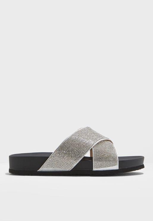 Envy Glitter Strap Slider