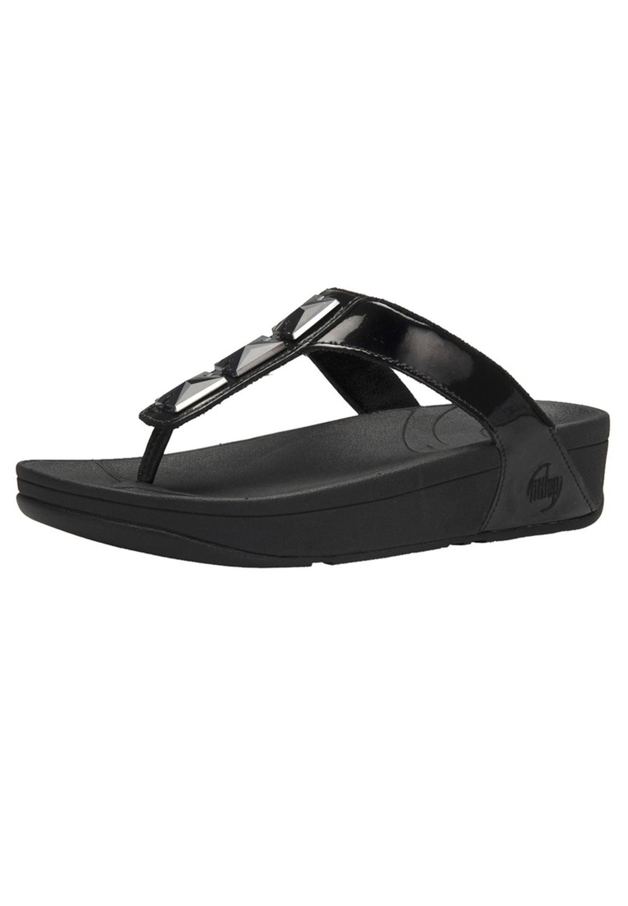 e5fb01665 Shop Fitflop black Casual Flat Sandals for Women in Kuwait ...