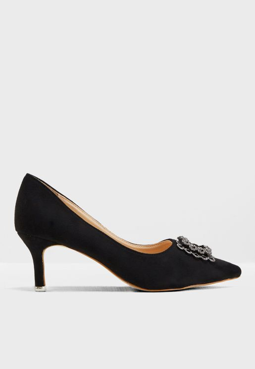 Aiza Heeled Pumps