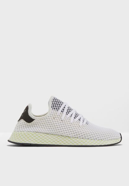 Shop adidas Originals white Deerupt Runner CQ2629 for Men in Saudi -  AD478SH53UQO