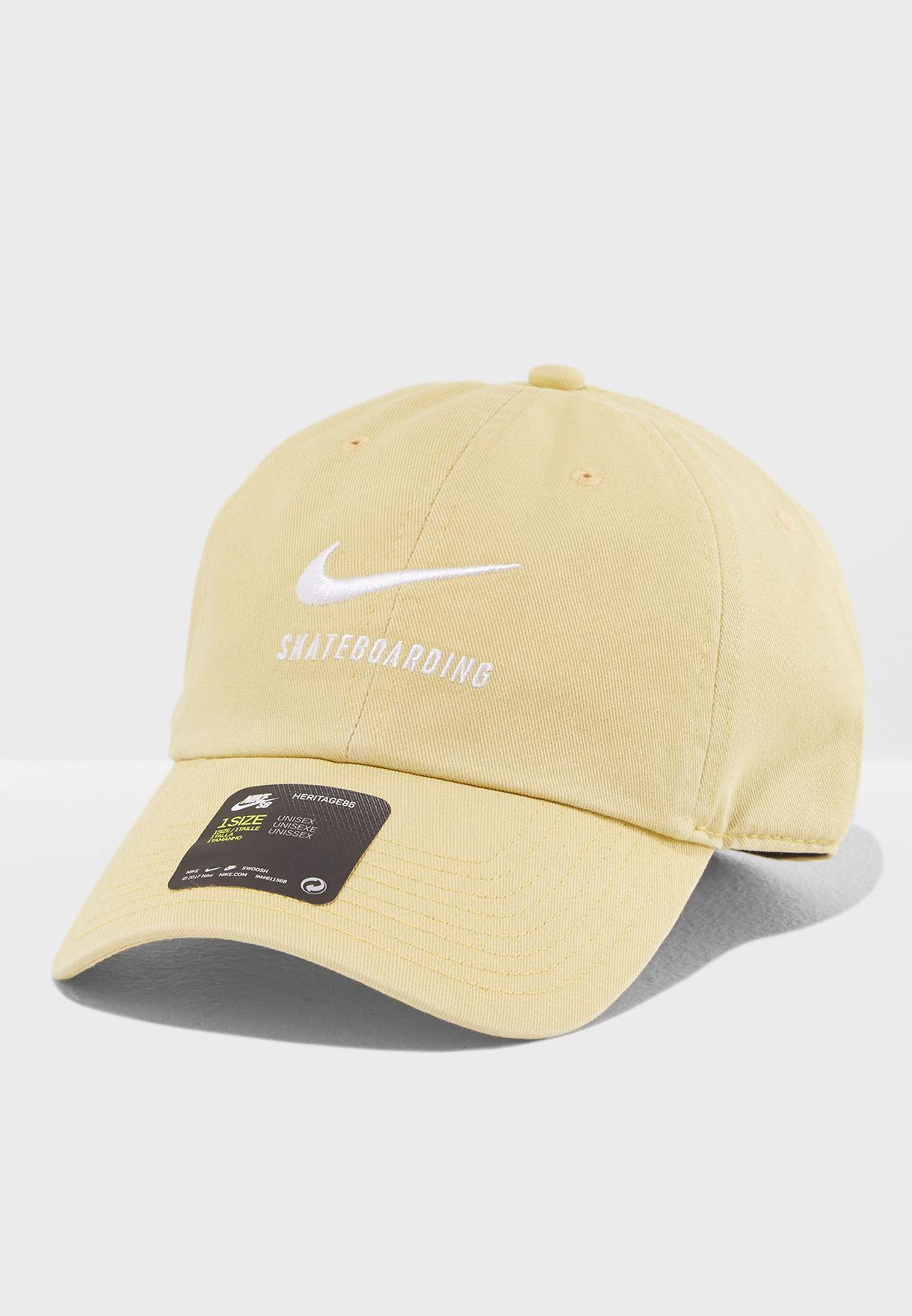 fb3f55e8c7afa spain lyst nike featherlight cap in yellow for men 52390 322ee  norway  heritage twill cap 7c3ea 63ecc