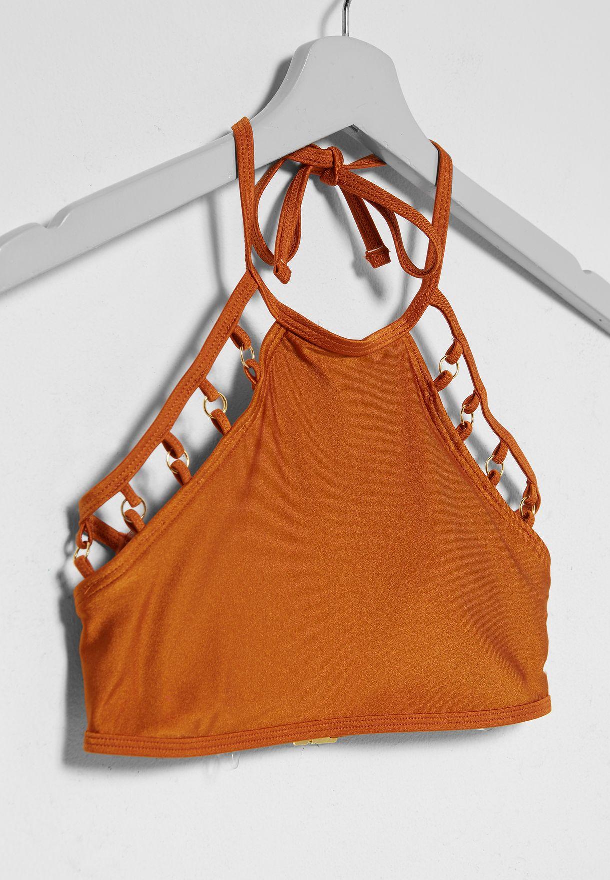 Embellished Bikini Top