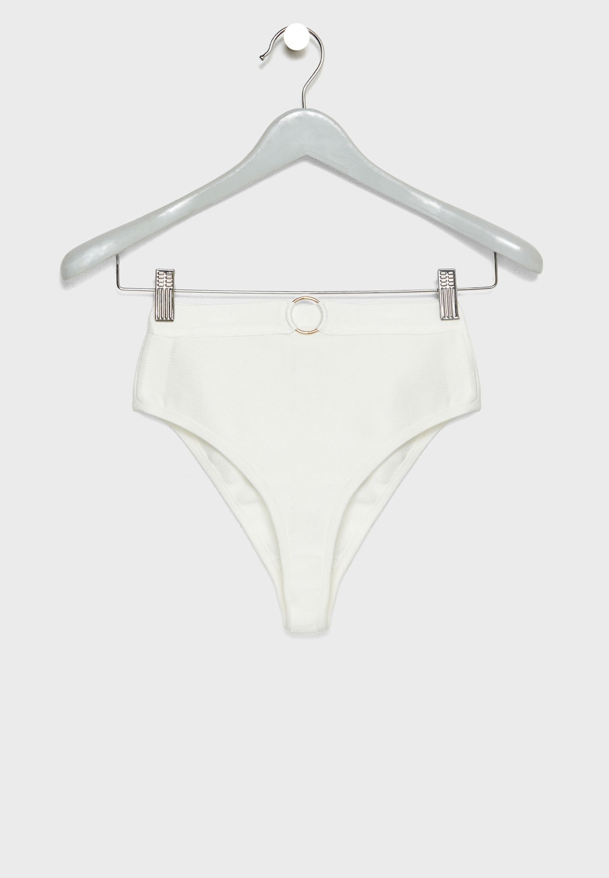 Bandage Ring Detail Bikini Set