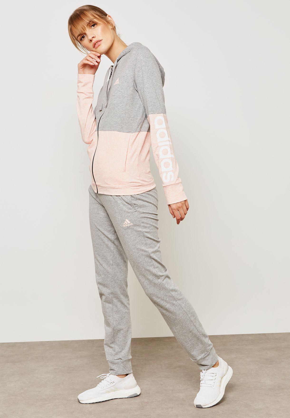 d0c7ba20636 Shop adidas grey Co Marker Tracksuit CZ2329 for Women in UAE ...