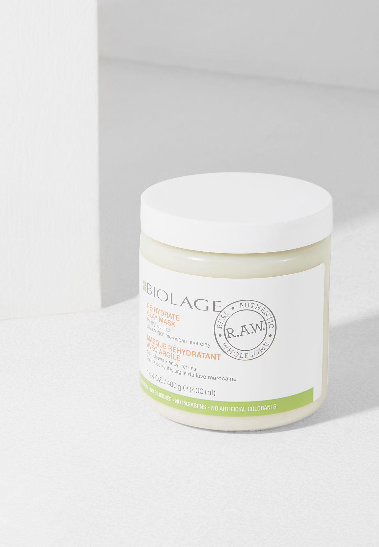 Biolage RAW Re-Hydrate Mask 400ml