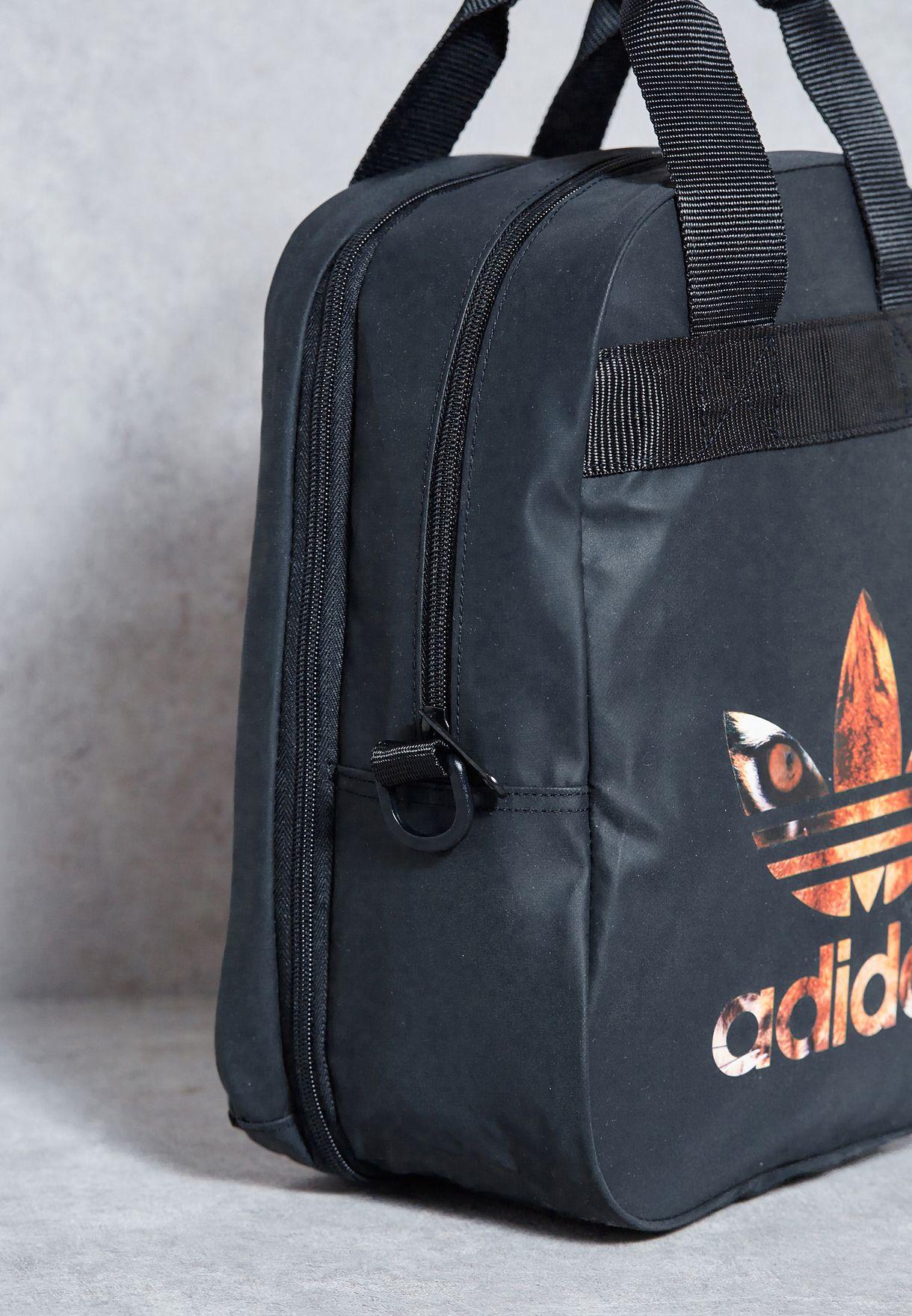 b98667b32b Shop adidas Originals black Rita Travel Bag AY9370 for Women in UAE ...