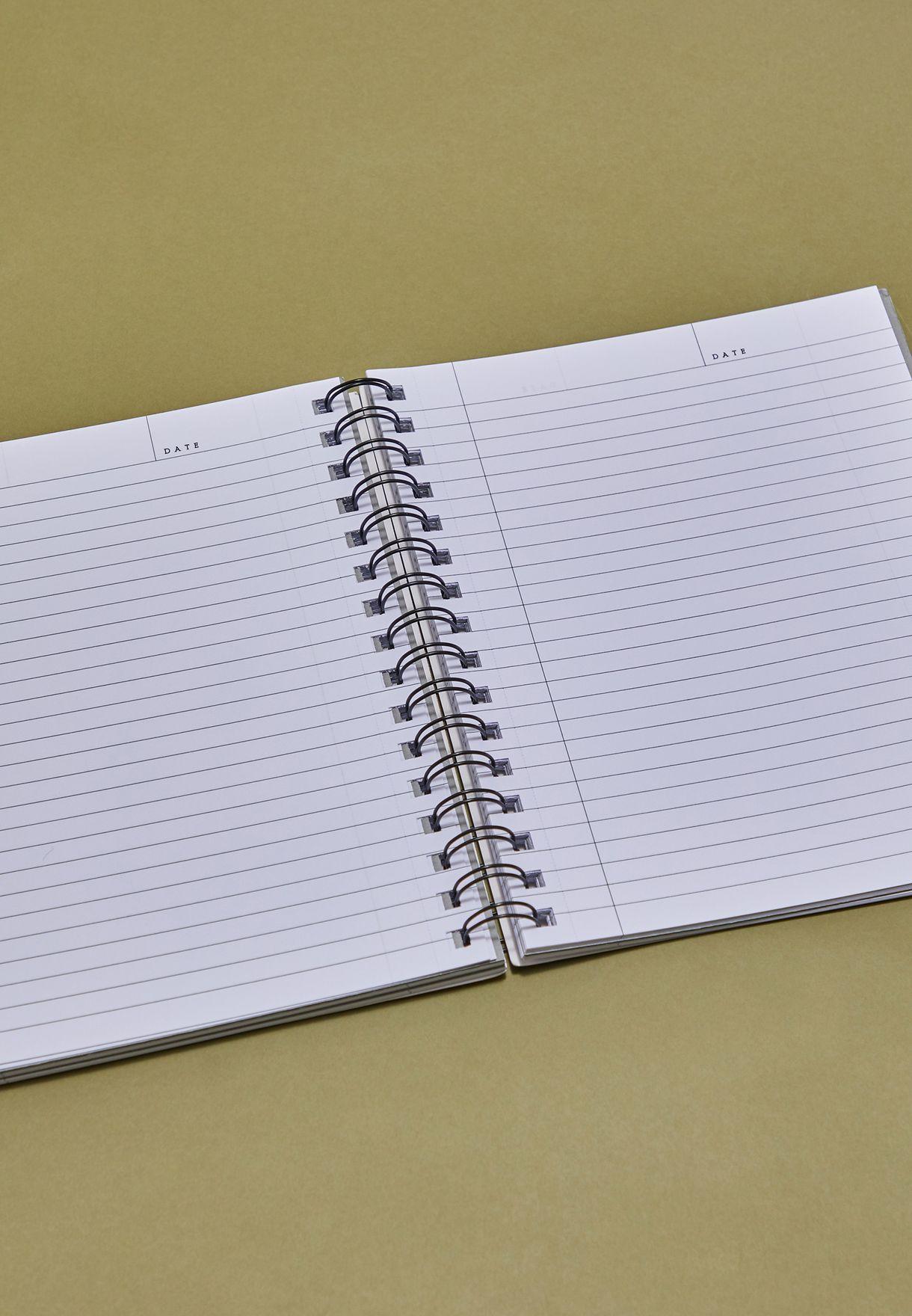 دفتر ملاحظات بطبعات رخامية