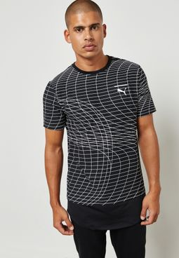Evo Grid Long T-Shirt