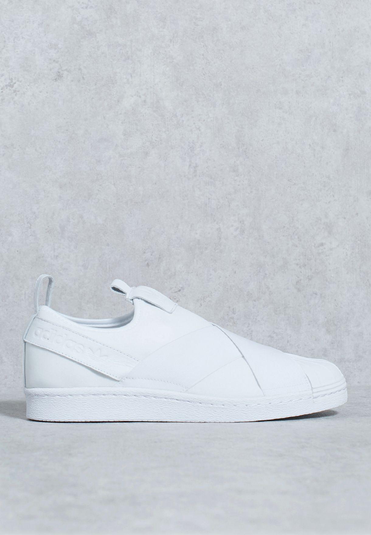 Tienda adidas Originals Superstar Kit escape Slip - on bz0111 para hombres en blanco