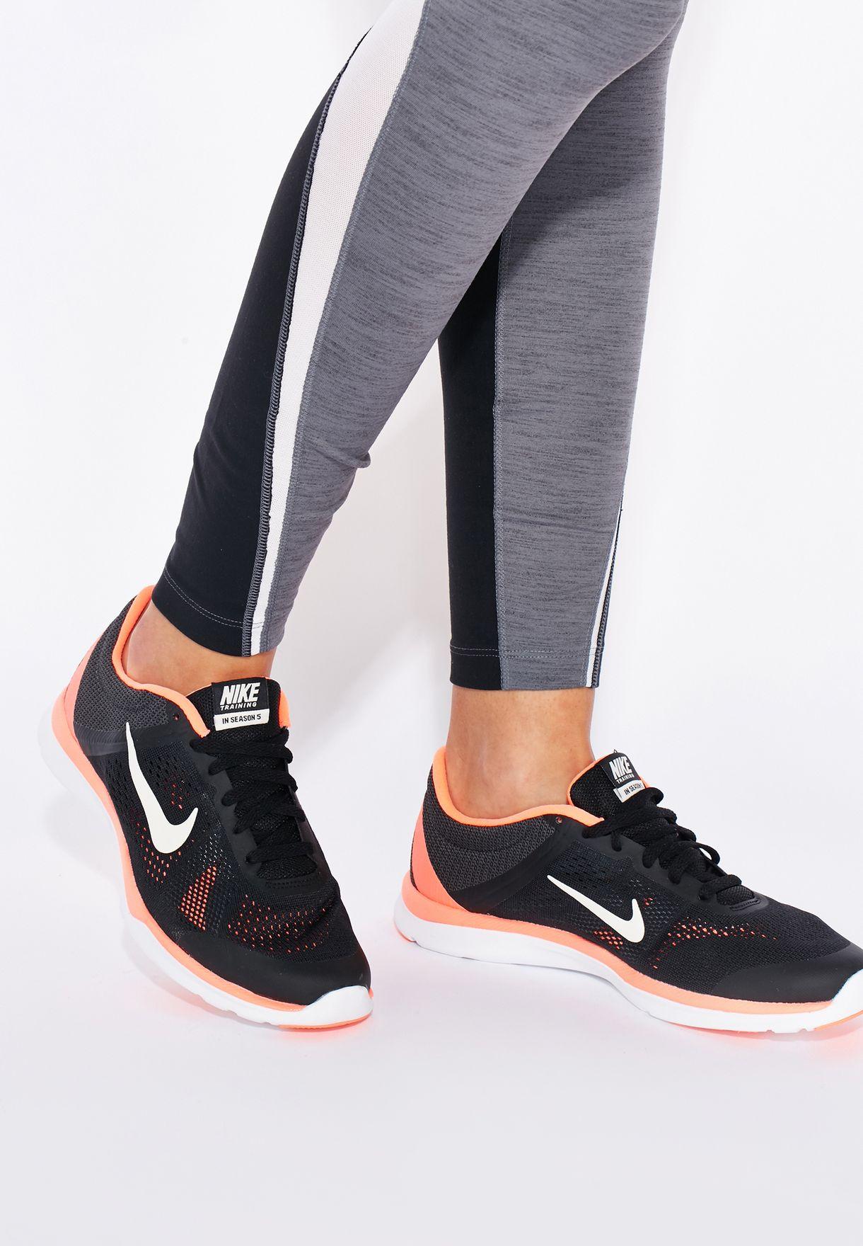 Buy Nike black In-Season Tr 5 for Women