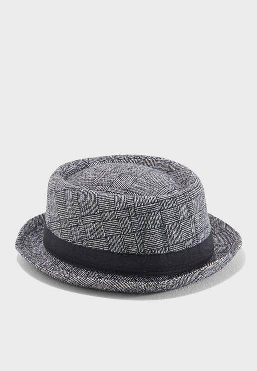 Summer Pork Pie Hat