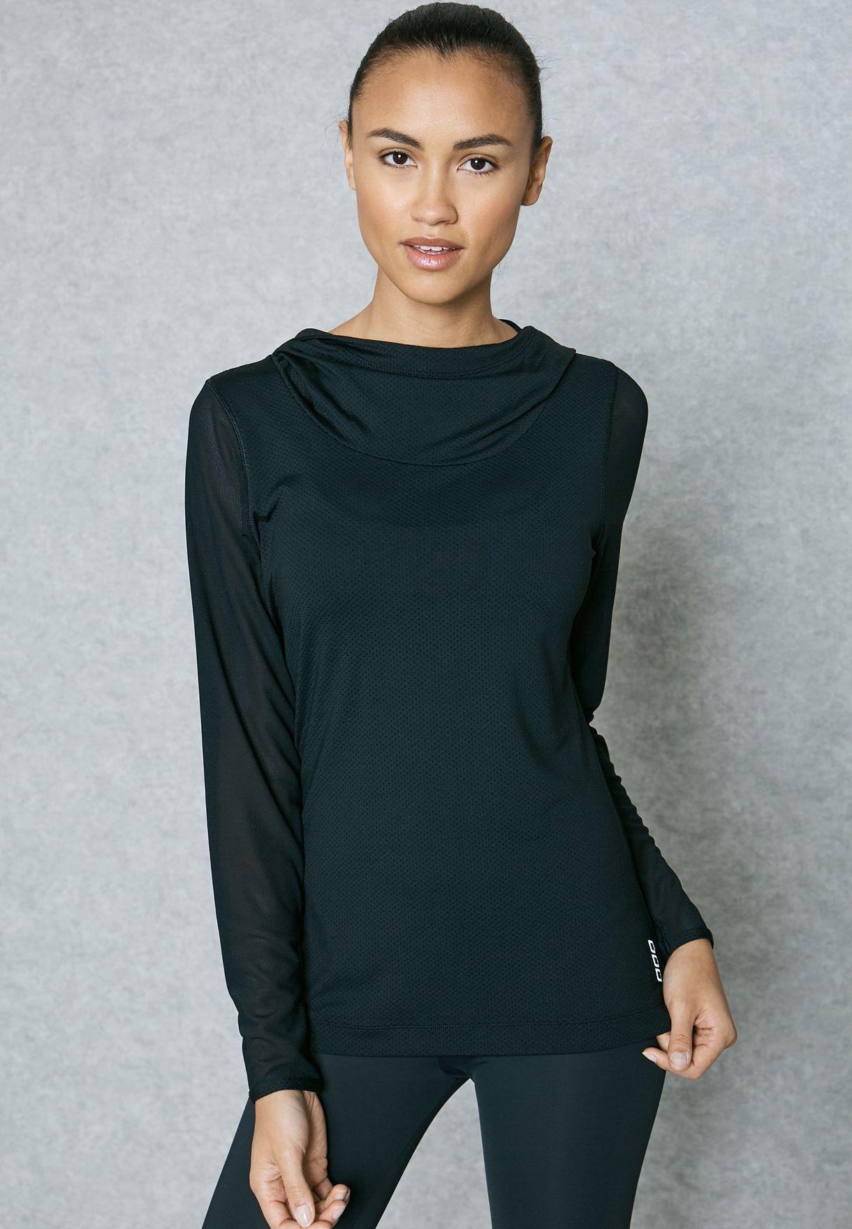 9501371afca0 Shop Lorna Jane black Troya Excel TShirt 051783 for Women in UAE 80 ...