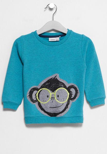 Infant Fefly Embroidery Sweatshirt