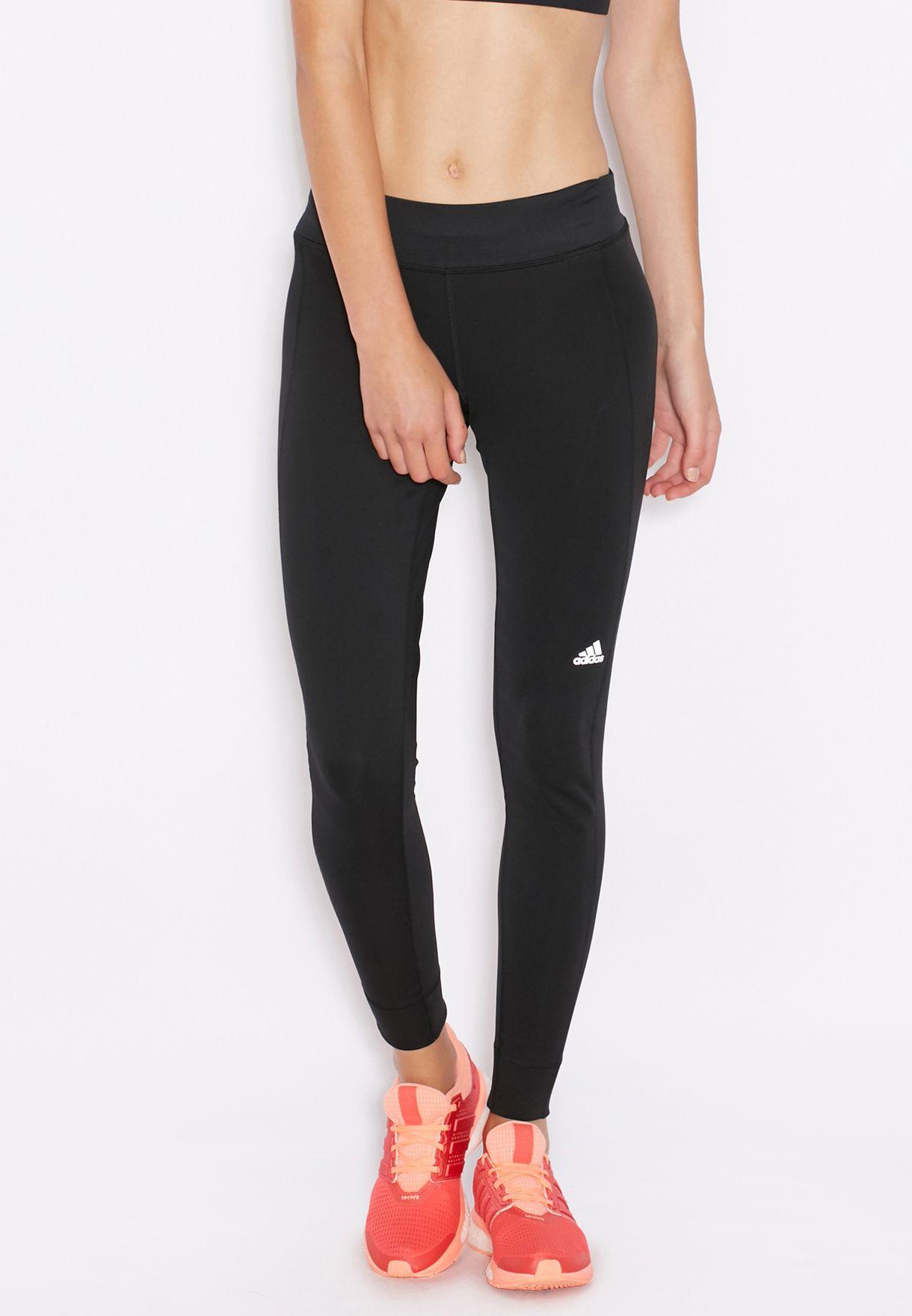 2a1a2dc6ddf1a Shop adidas black Run Leggings S10295 for Women in Saudi - AD476AT53PVA