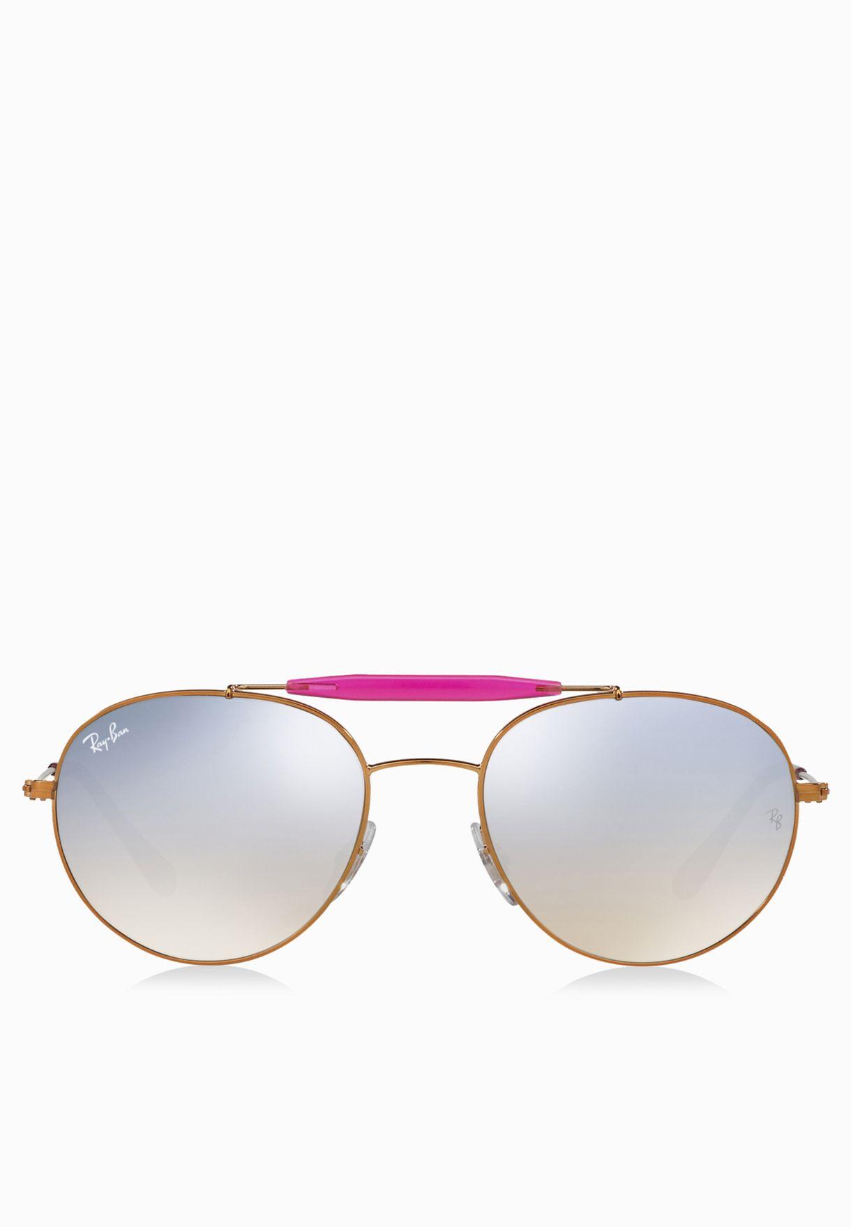 226785ecf تسوق نظارة شمسية افياتور ماركة ريبان لون برونز 8053672611830 في قطر ...