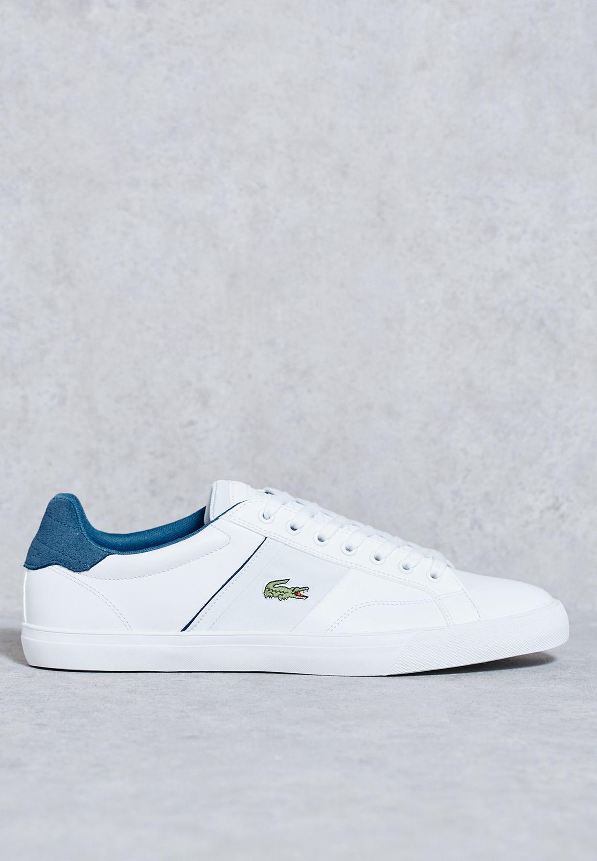 61c31c8ad9a922 Shop Lacoste white Fairlead 316 Sneakers 32SPM0013-001 for Men in Kuwait -  LA014SH53JIS