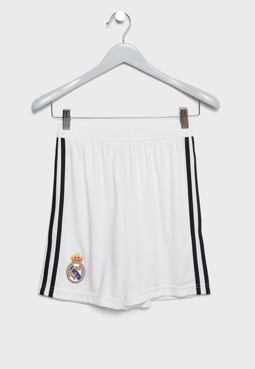 شورت بشعار نادي ريال مدريد لكرة القدم