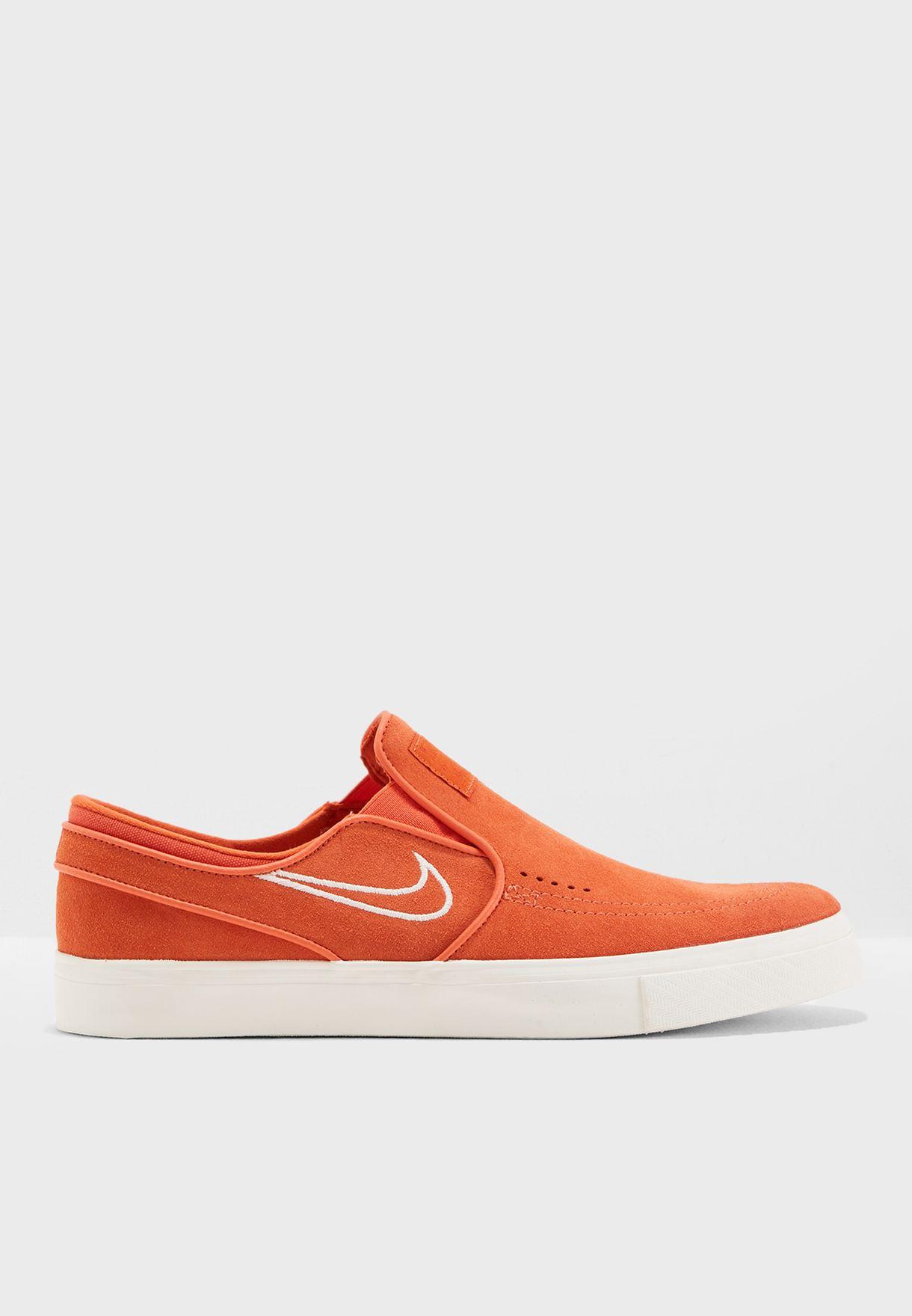 14eed2660fd784 Shop Nike orange Zoom Stefan Janoski Slip On 833564-800 for Men in ...