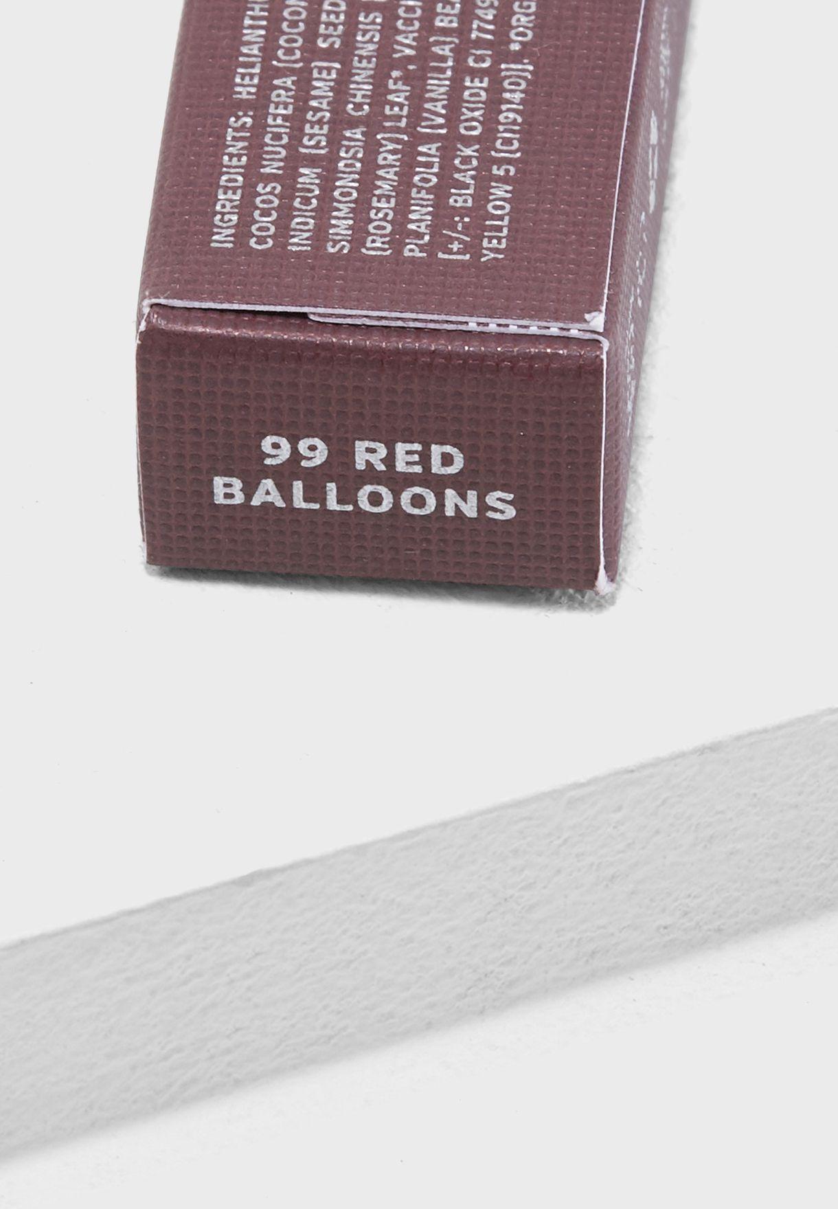 99 Red Balloons Satin Cream Lip Crayon
